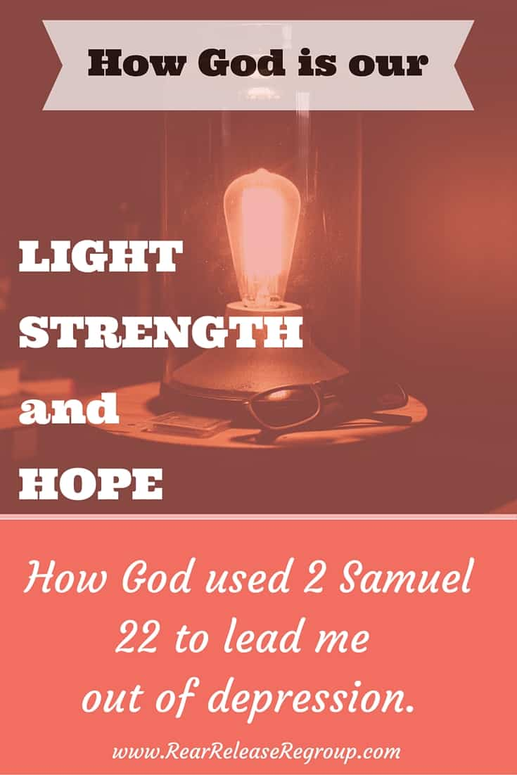 What does a lamp do? Helps us see our immediate surroundings. What does a lamp NOT do? Show us the rest. The rest of the path, the parts beyond the outer edges – the future. God is merciful like that. He gives us enough light for now. We can get through this moment – take this step.