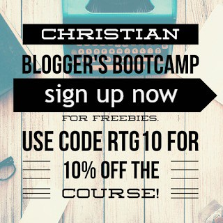 Join Christian Blogger's Bootcamp and grow your blog today!