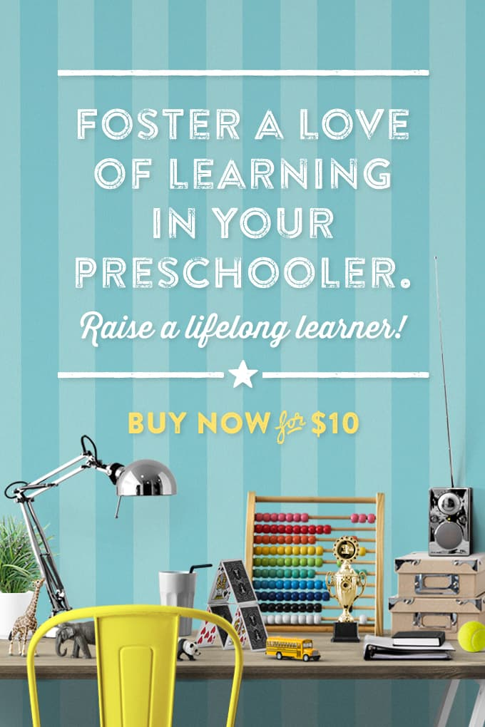 Foster a love of learning in your preschooler and raise a lifelong learner ebook