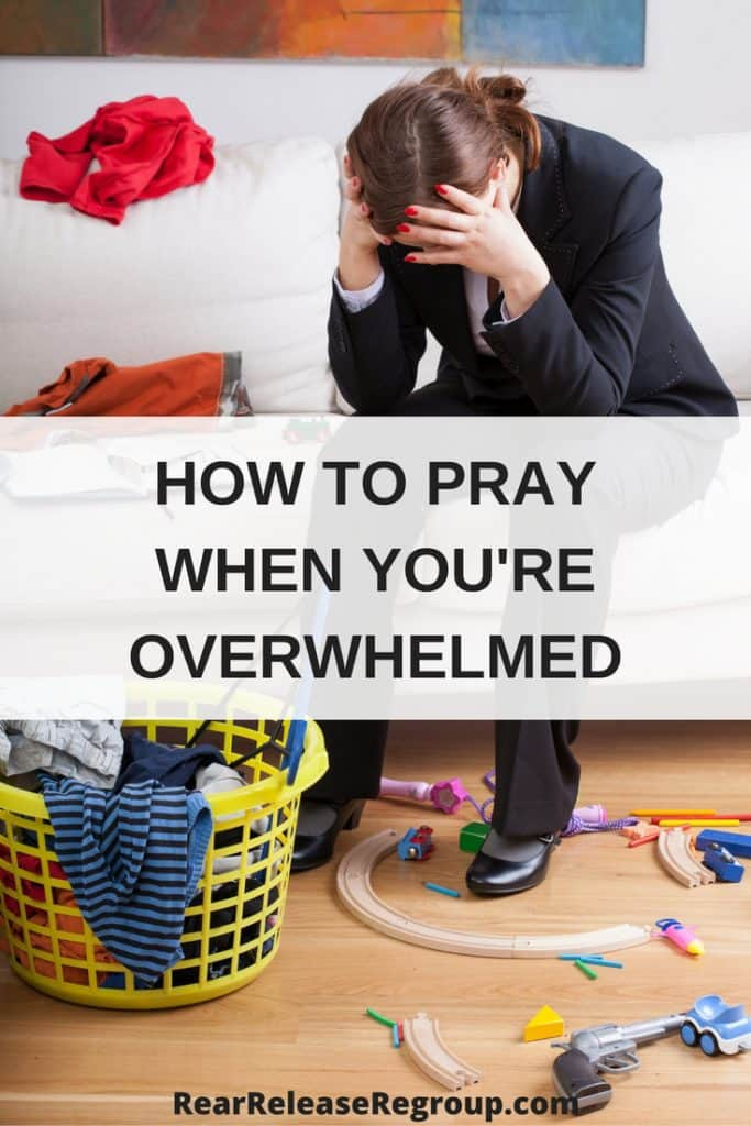 How to pray when you're overwhelmed, discouraged, or just don't know what to do. Hope for an effectual prayer life.