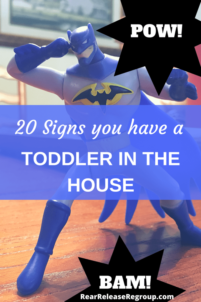 20 signs you have a toddler in the house. Toys, clothes, and messiness and how to see God's message for your season of motherhood.