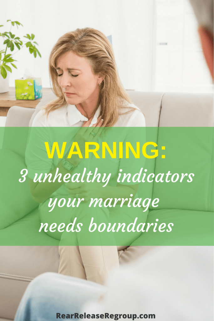 When you don't consider divorce Biblical but have an unhealthy marriage, how does Scripture counsel the wife? Your marriage needs boundaries.