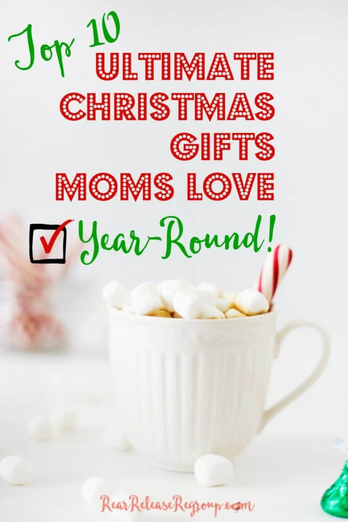 10 ultimate Christmas gifts moms love year-round. Practical, thoughtful, affordable gifts mothers will love to use. Most gifts listed under $5