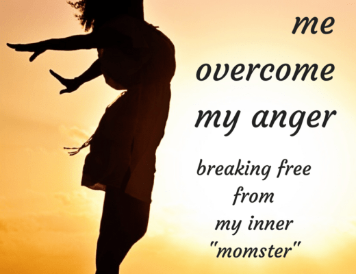 """The secret that helped me overcome my anger; breaking free from my inner """"momster"""" and flourishing into a graceful mother."""