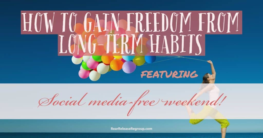 How to gain freedom from long-term habits through mini-challenges and break down goals into bite-sized pieces. Featuring social media-free weekend!
