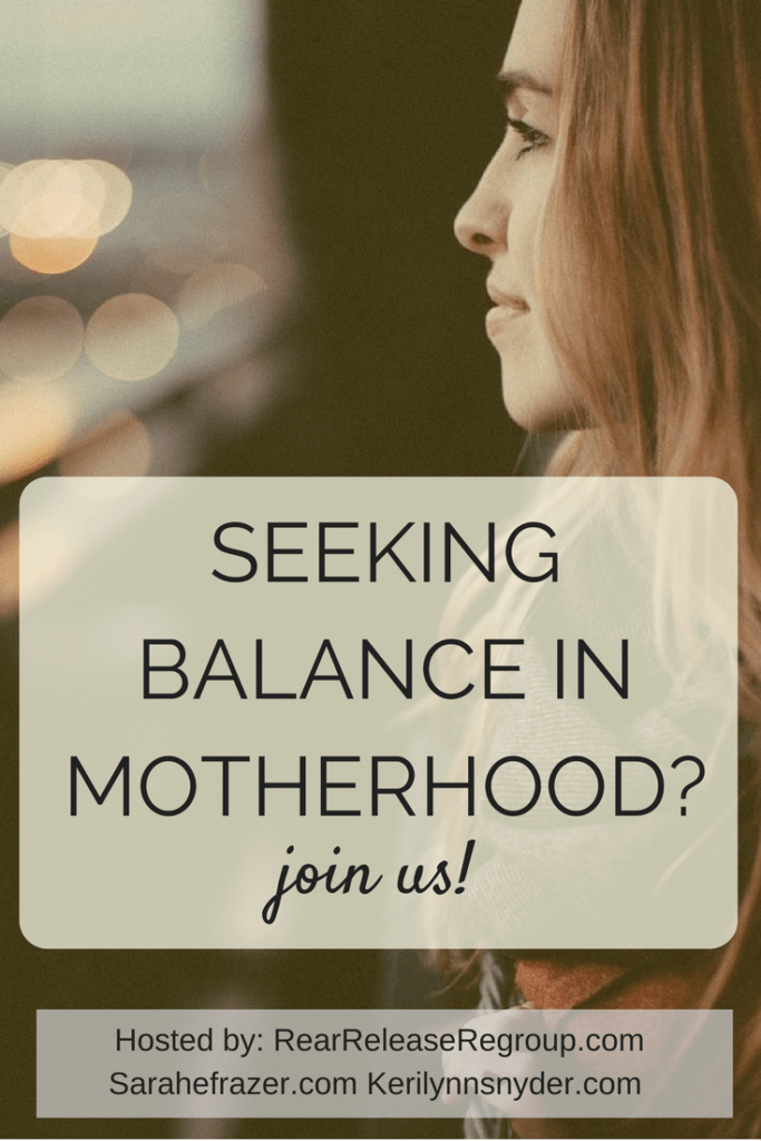 Motherhood: Balancing perspective; a 7-day devotional series with Sarah Frazer, Ruthie Gray, and Keri Snyder. Sign up today!