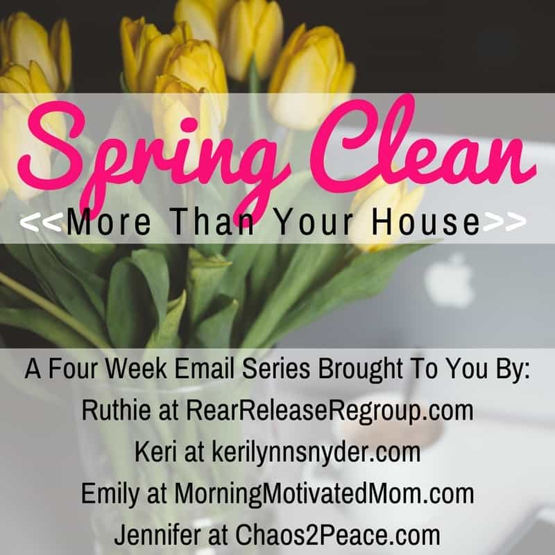 7 signs you need to spring clean your mind for focus. Motivation for decluttering and organizing your mama-mind from a special spring cleaning series.