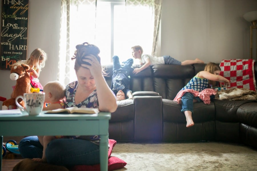 a prayer challenge busy moms can sink their teeth into