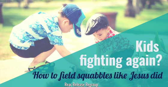 When your kids are fighting it's hard to think positively. Now moms can field squabbles like Jesus did by using timeless parenting truths from Scripture.