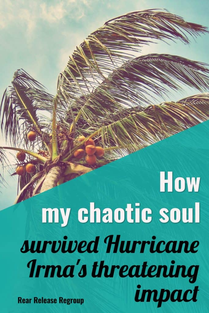 How my chaotic soul survived #Hurricane Irma's threatening impact. Tips on reviving, replenishing, and #flourishing your mama heart in Christ, even in chaos.