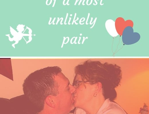 A love story of the most unlikely pair. How the childish man-boy won my heart in a surprising way.