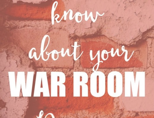 6 truths you need to know about your war room if you're discouraged because it's not working