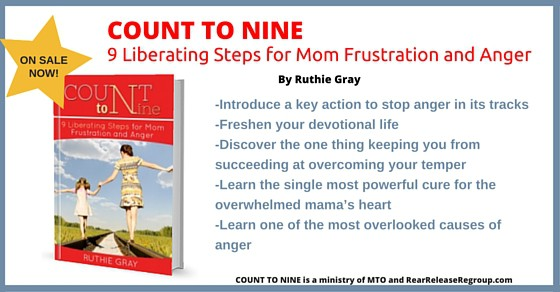 COUNT TO NINE: 9 Liberating Steps for Mom Frustration and Anger - What's inside this book!