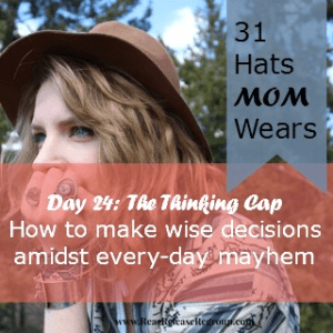day 24 thinking cap