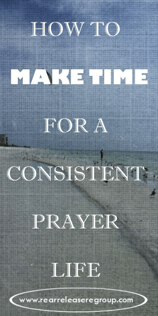 How to make time for a consistent prayer life - Mom - you can have a prayer life with these 4 simple steps..