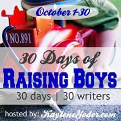 30 days of raising boys