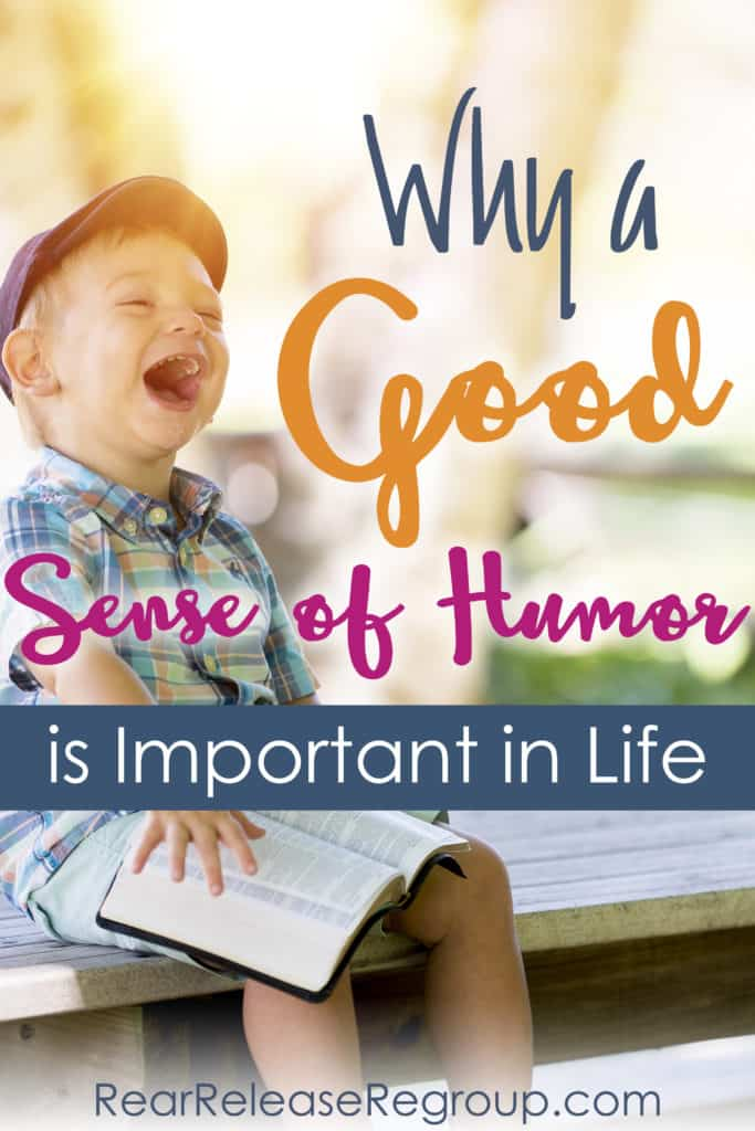 Why a good sense of humor is important in life; how the therapy of laughter heals and brings joy through the hard times, grief, and change.