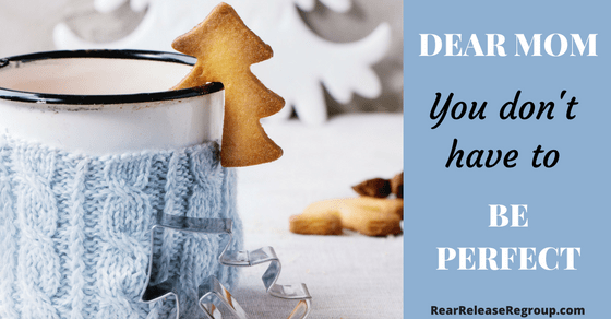 Dear mom, it's not as bad as you think; you don't have to be perfect. Encouragement for the discouraged mom who thinks she's failing and how God gives grace