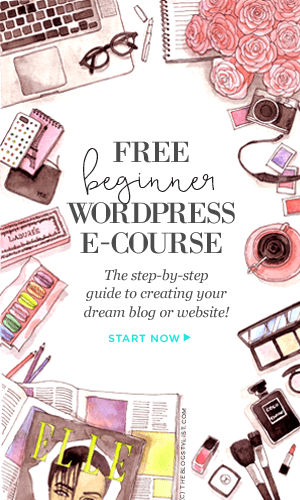 Learn how to set up your own WordPress site today with this free eCourse from The Blog Stylist!