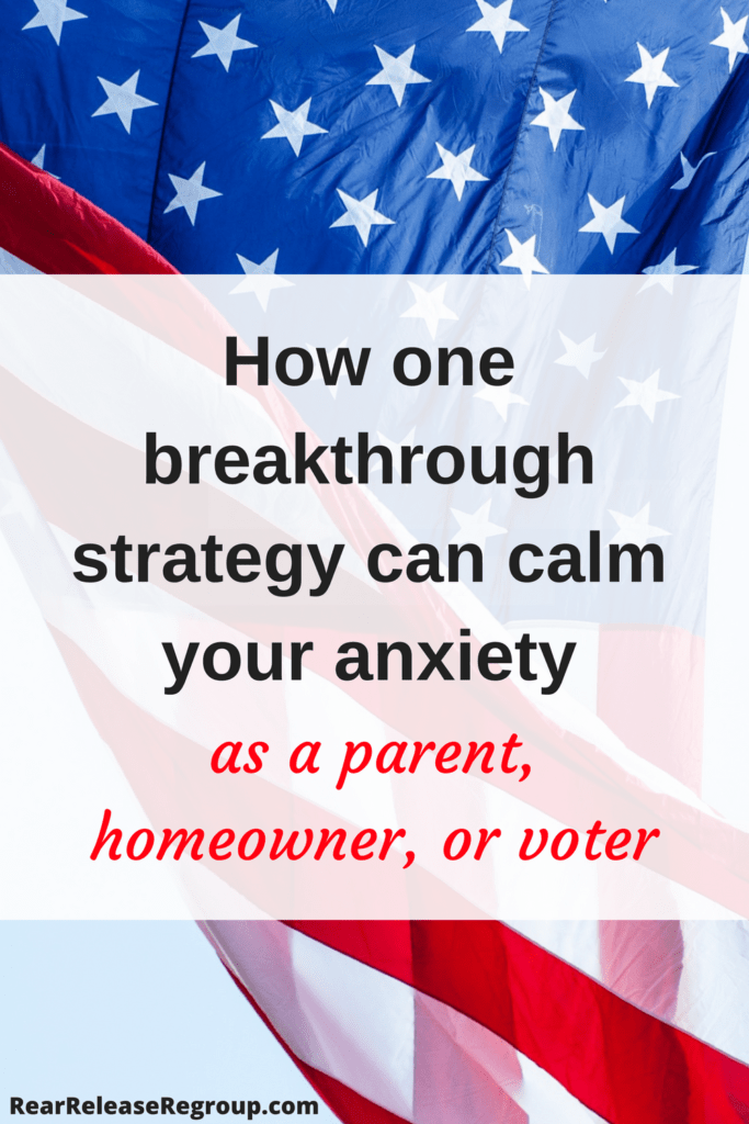 How one breakthrough strategy can calm your anxiety as a parent, homeowner, or voter. Truths you can hold onto to relieve anxious thoughts for the future.
