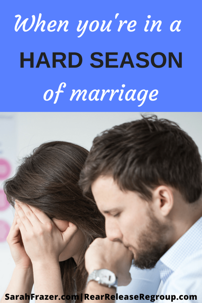 When you're in a hard season of marriage; 3 tips for challenges in marital conflict. Questions for troubled times and answers from Scripture.
