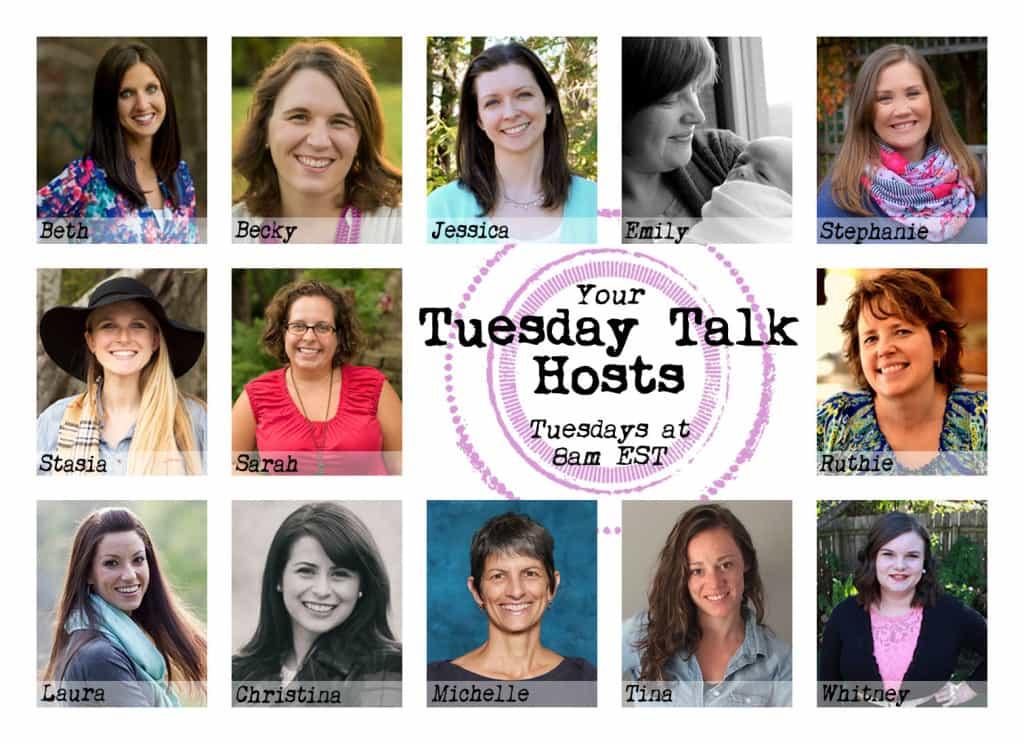 2016 Tuesday Talk Hosts - Tuesdays at 8:00AM EST