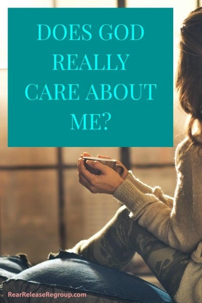 Does God really care about me? How we can come to trust God's Word and discover the key to faith. Inspiration and a lesson from a sand crab on hope in God.