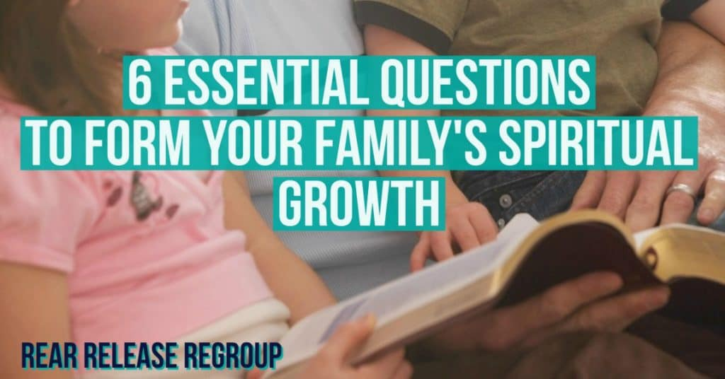 6 essential questions to form your family's spiritual growth; How to build a solid foundation through prayer, Scripture, and godly life-decisions. Because after all - your're a pilgrim here on earth - and your family needs a map!