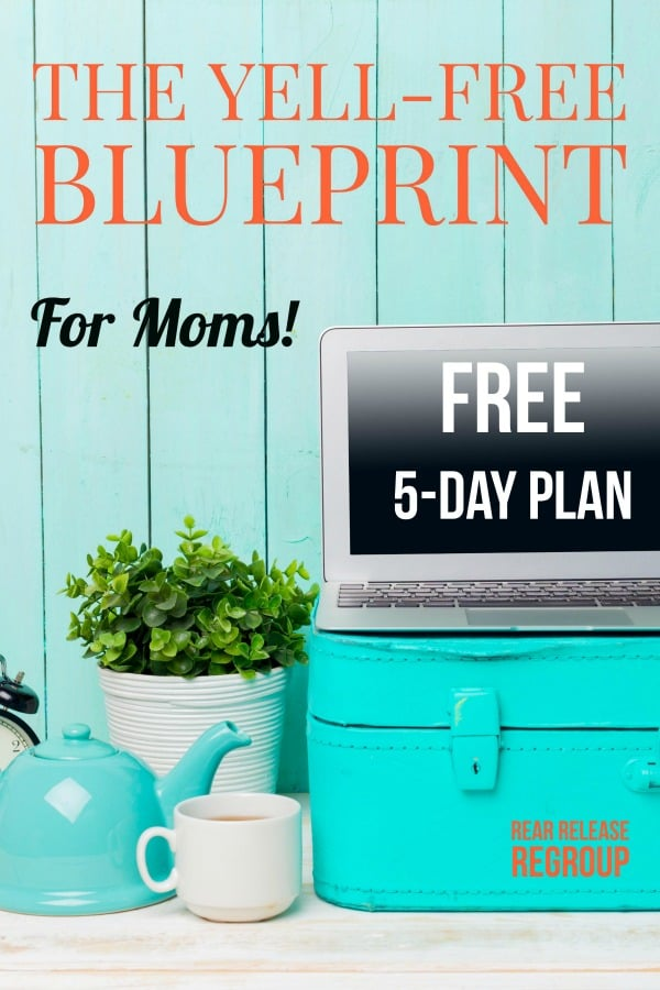 How can I stop yelling at my kids? Start the path to freedom with the free 5-day Yell-Free Blueprint! Become the yell-free mother you've always wanted. Written by a mom of four who almost lost her mind - but searched the Scriptures instead. The Yell-Free Blueprint; building motherhood with life-giving words.