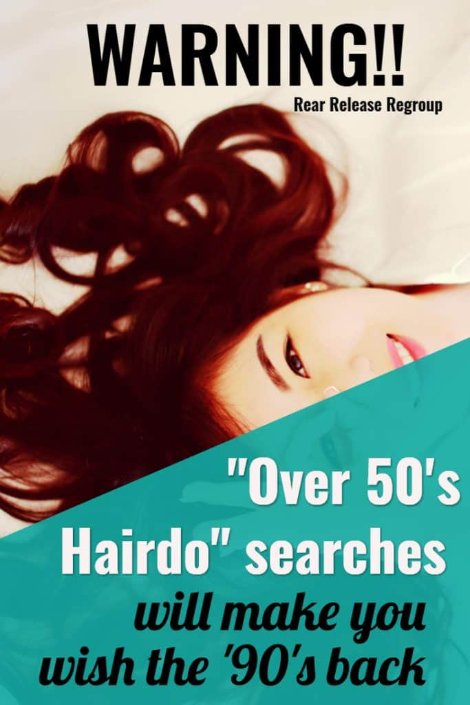 "Warning!! ""Over 50's #hairdo"" searches will make you wish the '90's back. Searching short #hairdos over 50, I found movie stars don't all age well. #humor"