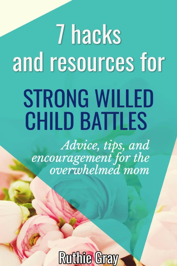 Encountering strong willed child battles at your house? Get these 7 + hacks, tips, and resources to boost your parenting skills with stubborn children!