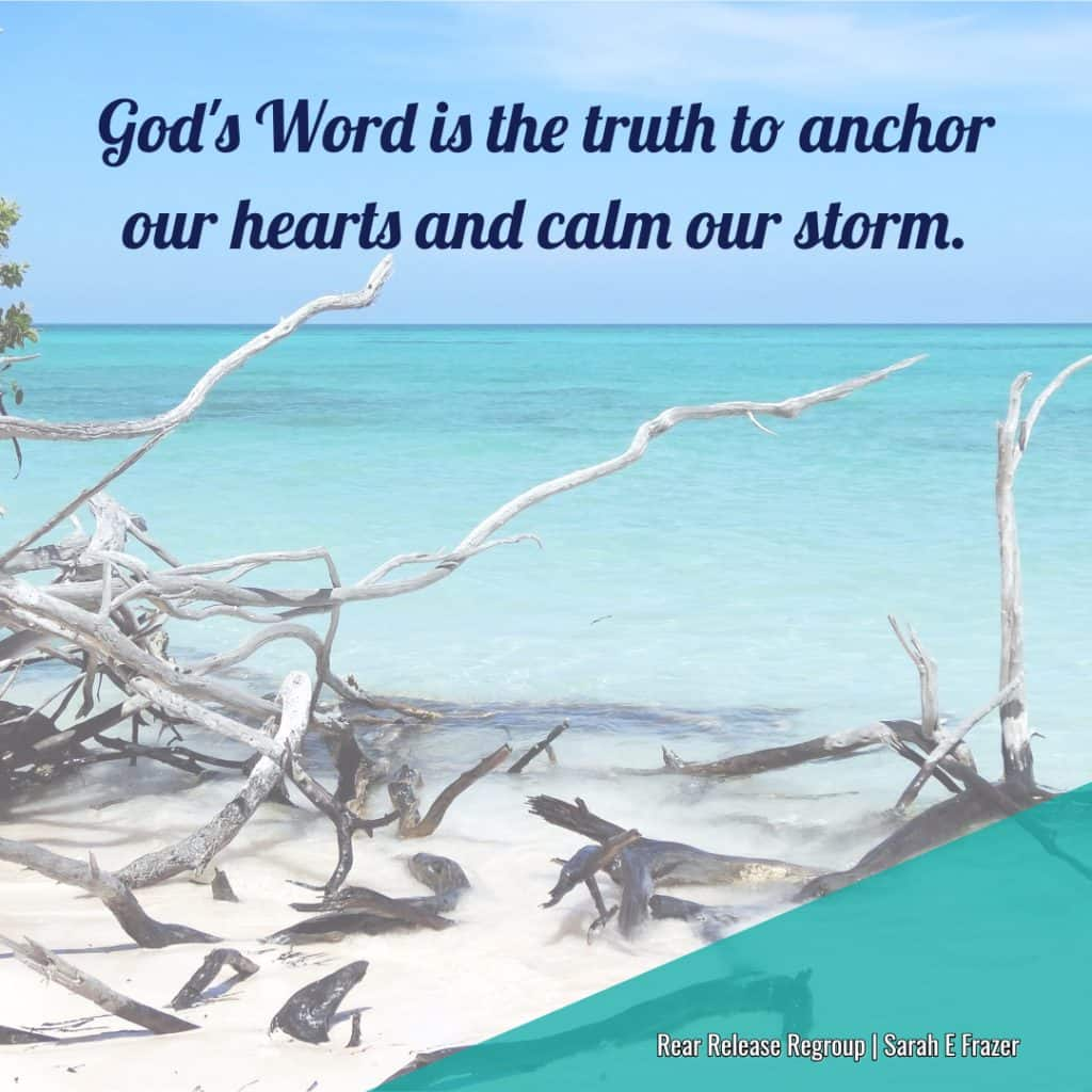 How God's truth gives strength to counteract lies we believe. Do you love words? What words do you run to for comfort? God's Word is the ultimate comfort!