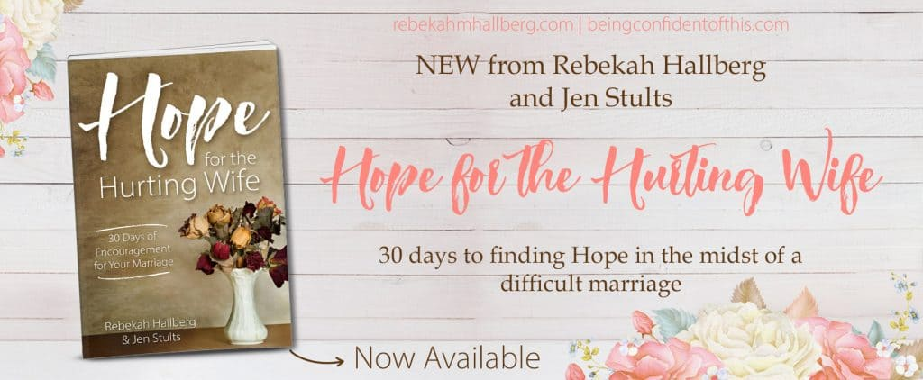 "Dear hurting wife; powerful advice for when marriage falls apart from the new book, ""Hope for the hurting wife"", a case study from two marriages God saved."