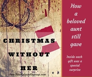 We had Christmas without her this year. But even in her absence, she found a way to be present. The story of the special gifts she left behind.
