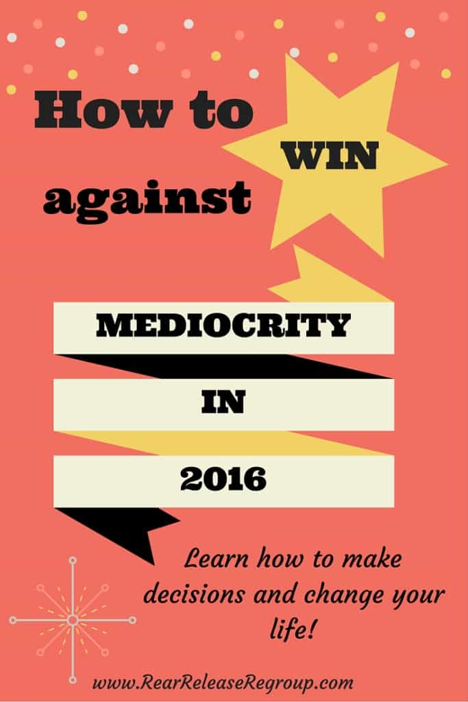 Learn how to fight the war against mediocrity and get out of the boat. Make a decision and start living your life!