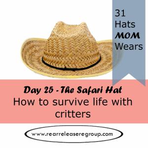 day 25 safari hat