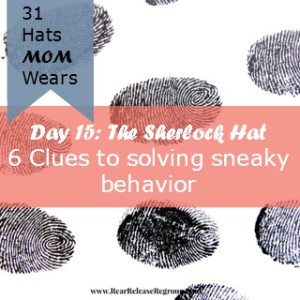 Seasons come in your child's life where you have to investigate sneaky behavior. Here's how I learned to handle the investigation.